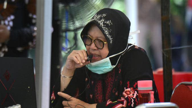 Risma Minta Camat hingga Lurah Perketat Pengawasan Izin Tempat Usaha di Surabaya