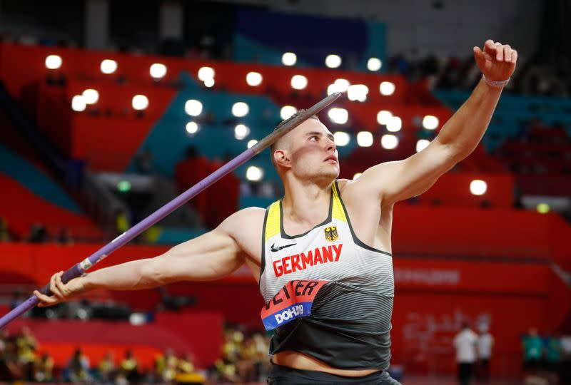 German Vetter produces second best javelin throw in history