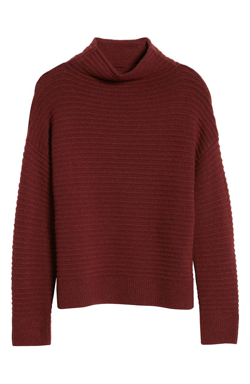 Belmont Mock Neck Sweater