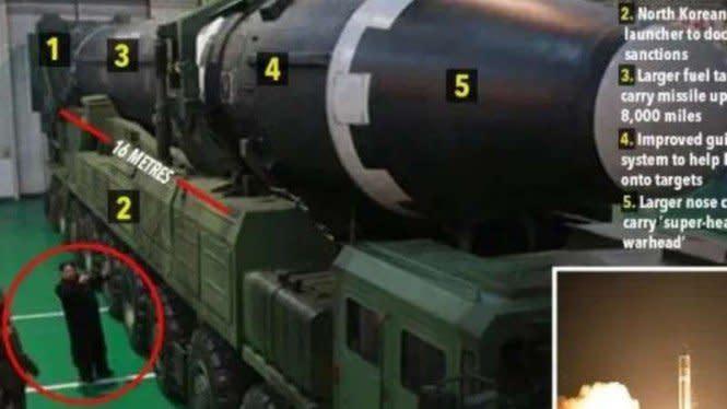 Fakta-fakta di Balik Rudal Nuklir Baru Kebanggaan Korea Utara