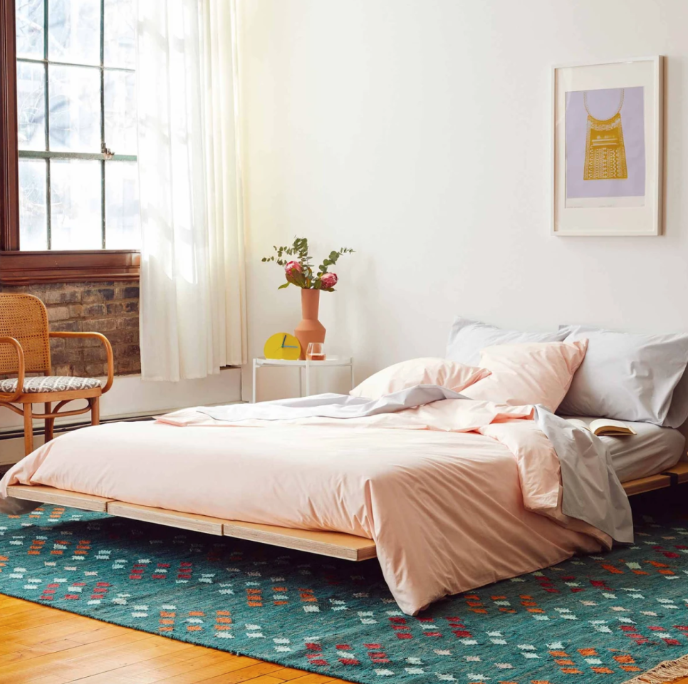 """<p><strong>Brooklinen</strong></p><p>brooklinen.com</p><p><a href=""""https://go.redirectingat.com?id=74968X1596630&url=https%3A%2F%2Fwww.brooklinen.com%2Fproducts%2Fclassic-core-sheet-set&sref=https%3A%2F%2Fwww.harpersbazaar.com%2Ffashion%2Ftrends%2Fg32651136%2Fbrooklinen-memorial-day-sale-2020%2F"""" target=""""_blank"""">SHOP IT </a></p><p><del>$99—$159</del><strong><br>$84.15—$135.15</strong></p><p>If you're checking out Brooklinen for the very first time, go directly to its classic core sheet set. I mean, they're the most popular sheets on the Internet.</p>"""