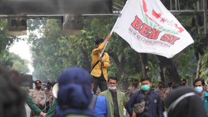 Ditemui Stafsus Milenial Jokowi, BEM SI: Bukan Itu yang Kami Harapkan