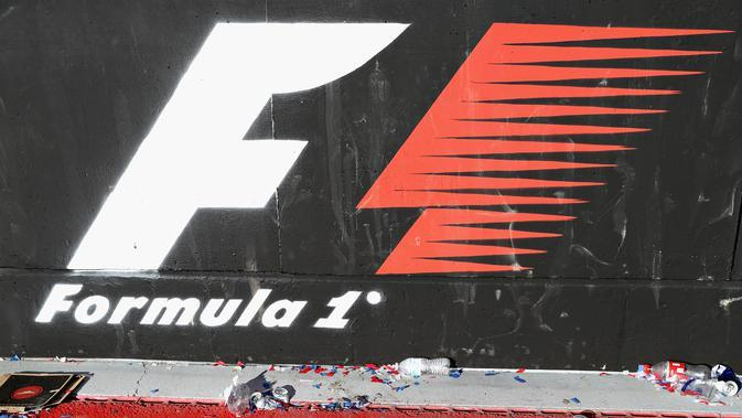 Logo Formula 1 (F1). (AFP/Mark Thompson)