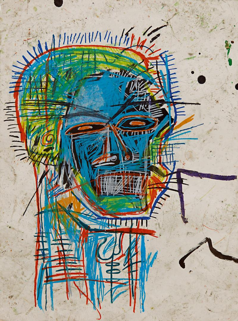 Jean-Michel Basquiat, Untitled (Head) - Sotheby's