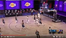 NBA/「皇獸」聯手 超狂空中接力