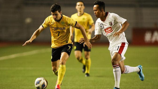 Ceres-Negros berhasil memetik kemenanhgan 4-0 atas Bali United pada matchday ketiga Piala AFC 2020, Rabu (11/3/2020) di Stadion Rizal Memorial, Manila. (Ceres-Negros FC/Janb Dayrit)