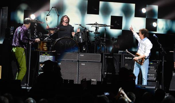 Nevermind The 'Nevermind': McCartney Jams On New Tune With Former Nirvana Members