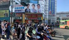 台中大智路設待轉區 近百輛機車族抗議 (圖)