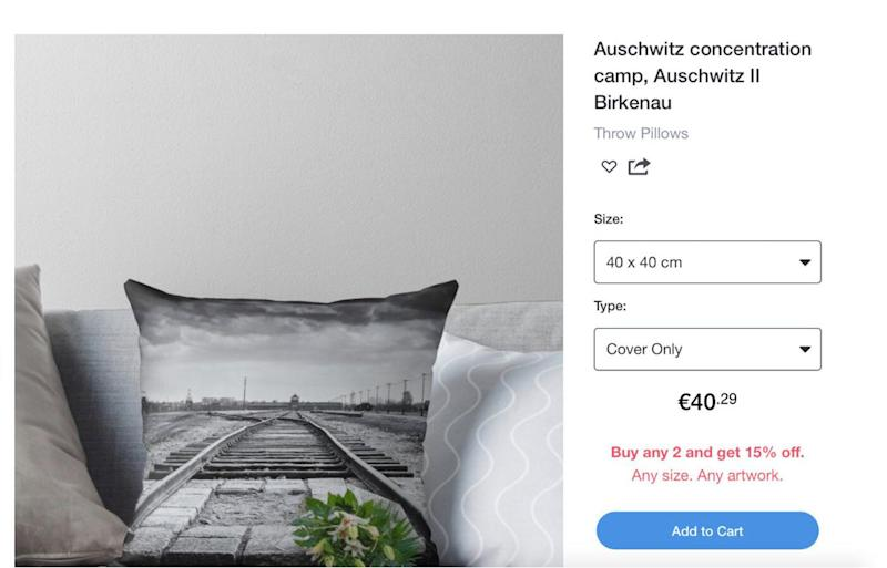 Outrage as Aussie Online Store Redbubble Selling Auschwitz Death Camp Skirts