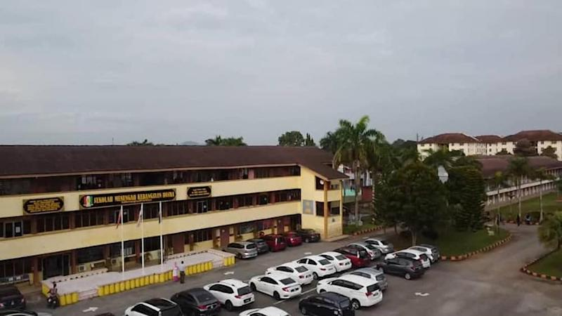 A view of SMK Hosba, one of the schools ordered to close in Kedah. — Picture via Facebook/SMK Hosba