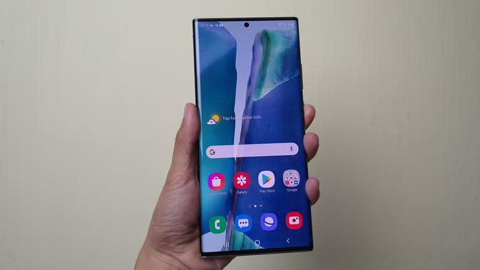 Galaxy Note20 Ultra (Liputan6.com/ Agustin Setyo W)
