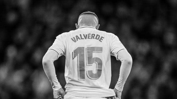 Fede Valverde, gelandang Real Madrid. (Dok. Twitter/Fede Valverde)