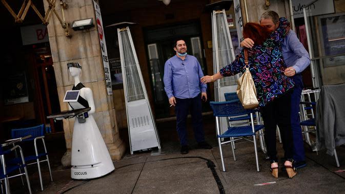Sebuah robot yang dikenal sebagai