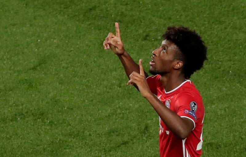 Bayern's Champions League goal hero Coman in coronavirus quarantine