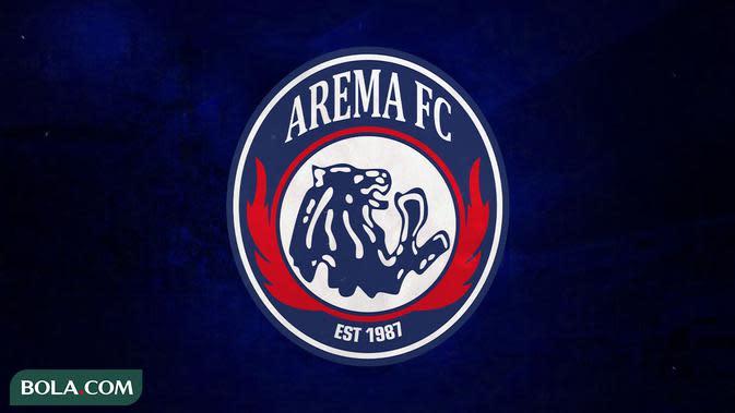 Arema FC - Ilustrasi Logo (Bola.com/Adreanus Titus)
