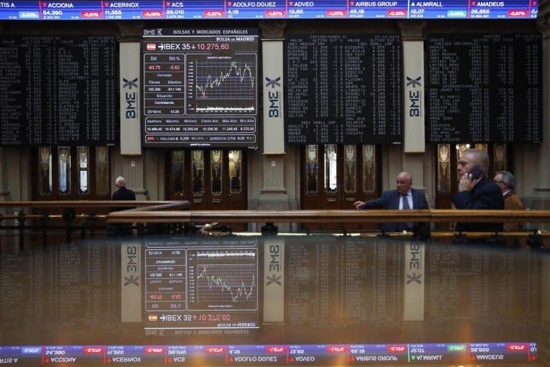 Saham Spanyol kembali jatuh, indeks IBEX 35 tergelincir 1,70 persen