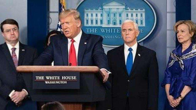 Obat Corona Donald Trump Gagal, Pasien Malah Kena Serangan Jantung