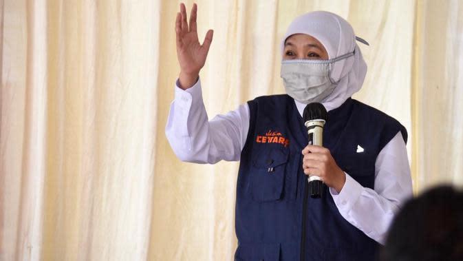 Gubernur Khofifah mengapresiasi terbentuknya kampung tangguh yang ada di wilayah Malang Raya.