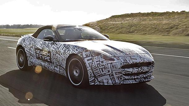 Jaguar F-Type, the E-Type's successor and Jag's first two-seater in over 50 years, arrives in 2013