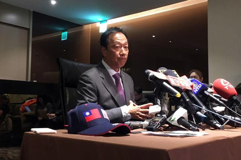 Foxconn's Gou to discuss trade war, investment on U.S. trip