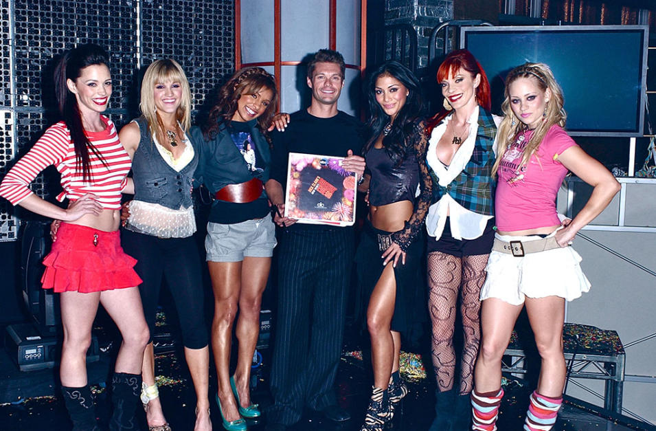 NYRE 2006 Pussycat Dolls with Ryan Seacrest