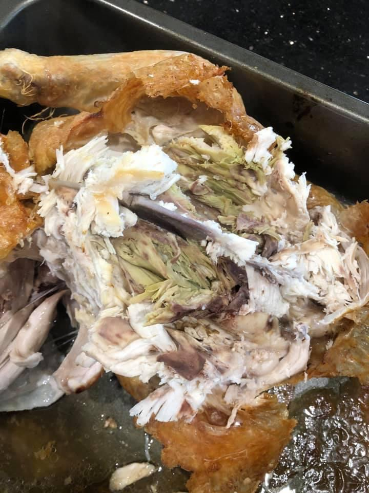 Horrified' discovery that Coles roast chicken meat was green