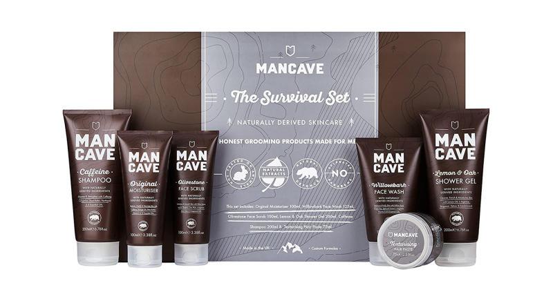 ManCave Survival Gift Set
