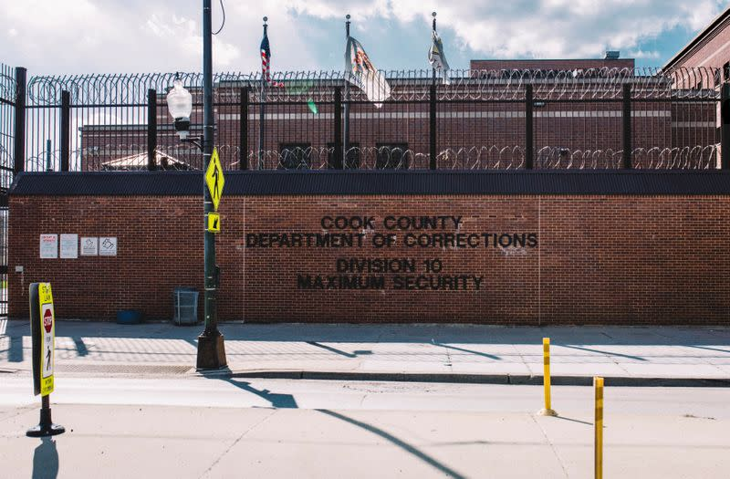 The exterior of Cook County Jail is seen in Chicago