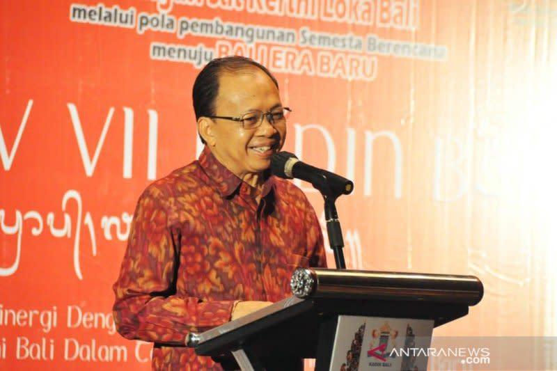 Gubernur Bali dorong pengembangan industri berbasis kearifan lokal