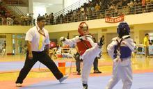 全國少年跆拳道錦標賽在台中中港高中開打