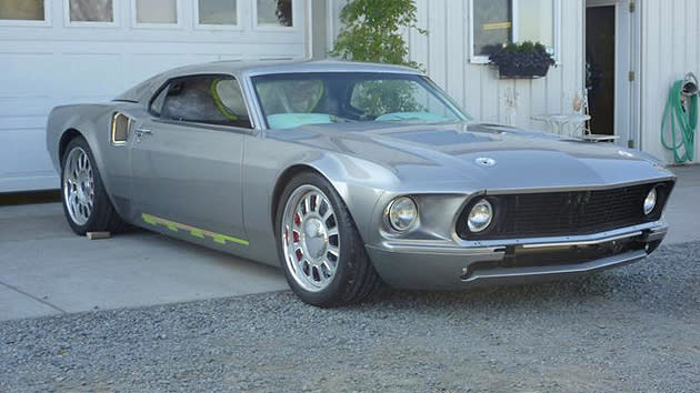 Mustang Mach 40, a custom '60s-flavored supercar, coming to Gran Turismo