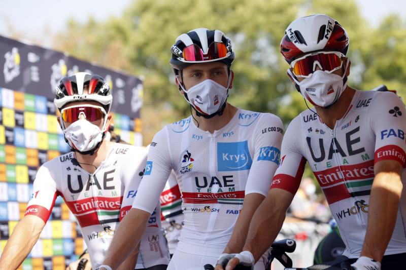 Tour de France 2020 - 107th Edition - 19th stage Bourg-en-Bresse - Champagnole 166,5 KM - 18/09/2020 - Tadej Pogacar (SLO - UAE - Team Emirates) - photo POOL/BettiniPhoto©2020