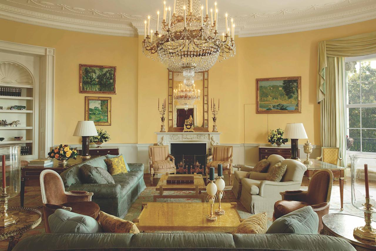 """<p>Is it possible to paint our way to a more sunnier outlook? Perhaps—especially with some of the most iconic rooms in history as our guide.</p><p>For centuries, world leaders, cultural cognoscenti, and designers alike have turned to the color yellow to enliven rooms, thanks to its glow as a backdrop for candlelight and its power to re-create the atmosphere of sunnier climes inside. Today, the color—with its mood-altering qualities and <em></em>just a tinge of nostalgia—feels as fresh, relevant, and necessary as ever as we're spending more time at home than we have for decades. </p><p>The hue has a surprising range in tone, depending on the amount of black or white mixed in, and shade, based on the whether the yellow skews more orange or green. And its brightening potential is just as potent for a <a href=""""https://www.veranda.com/decorating-ideas/color-ideas/g27455857/living-room-color-combinations-scheme/"""" target=""""_blank"""">living room color scheme</a> as it is in a dining room, entry hall, bedroom, or kitchen. </p><p>Find your ideal shade of yellow right here, from pale butter and bold citrus to <a href=""""https://www.veranda.com/decorating-ideas/color-ideas/g1021/unexpected-color-in-veranda/"""" target=""""_blank"""">more unexpected colors</a> like warm ochre and mustard.  <em></em></p>"""