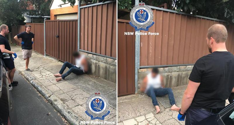 Sydney murderer Damien Peters arrested after 'removing ankle