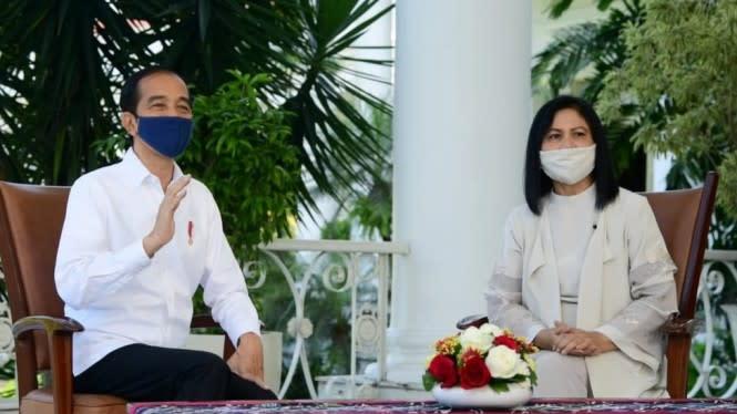 Jokowi Tes Swab Setelah Wakil Wali Kota Solo Positif COVID-19