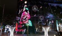 台新金控總部 耶誕樹高達15公尺 (圖)