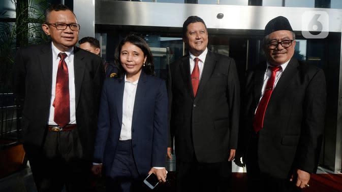 DKPP Segera Kirim ke Jokowi Surat Pemecatan Wahyu Setiawan