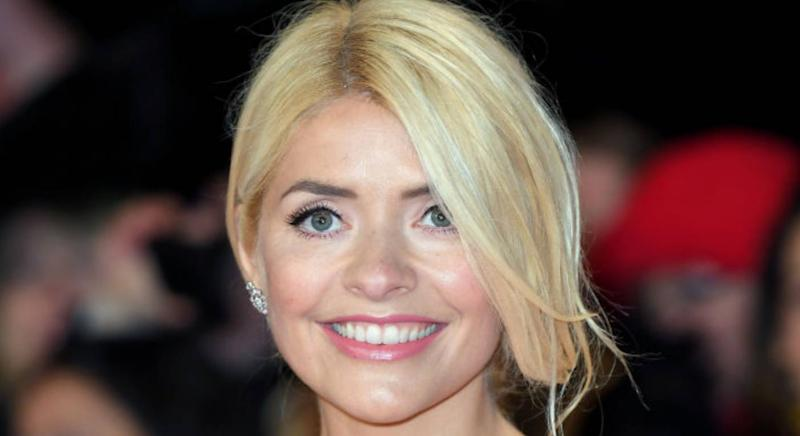 Holly Willoughby is ray of sunshine in yellow Ghost dress. (Getty Images)