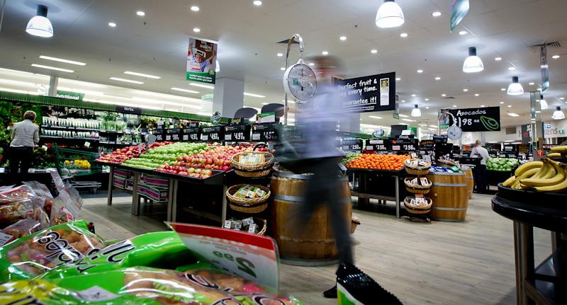 Time-poor shoppers can now skip the lines at Woolworths supermarkets thanks to the express delivery service.