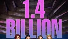 BLACKPINK《DDU-DU DDU-DU》突破14億點擊大關
