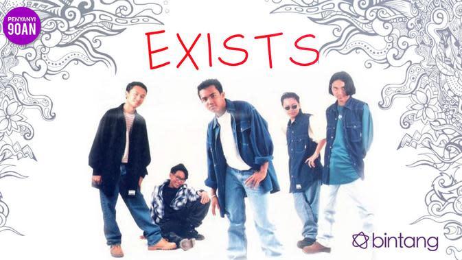 Band asal Malaysia Exists menjadi salah satu musisi negeri jiran yang ekspansi ke Indonesia. (Desain: Muhammad Iqbal Nurfajri/Bintang.com)