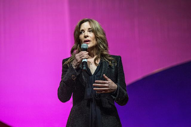 Marianne Williamson (Photo by Amy Harris/Invision/AP/File)