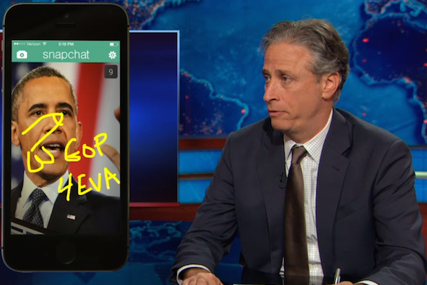 Jon Stewart Calls Sarah Palin, GOP's Calls to Impeach Obama 'Bullsh-t' (Video)