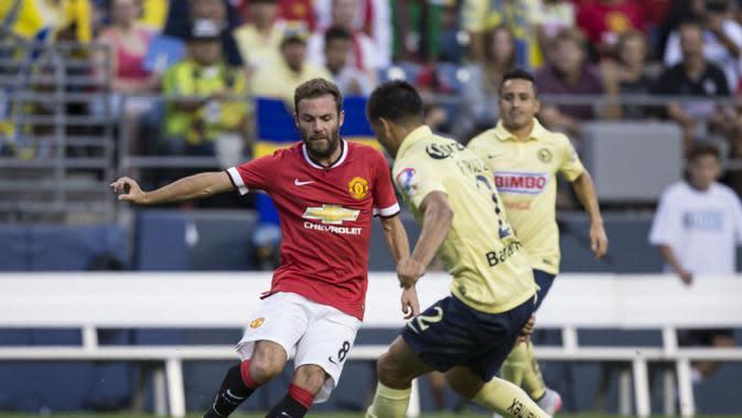 Club America vs MU (AFP)