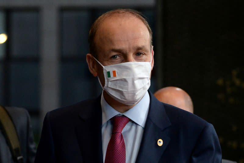 Irish pm, deputy pm say clear breaches of public health guidelines during Hogan's trip
