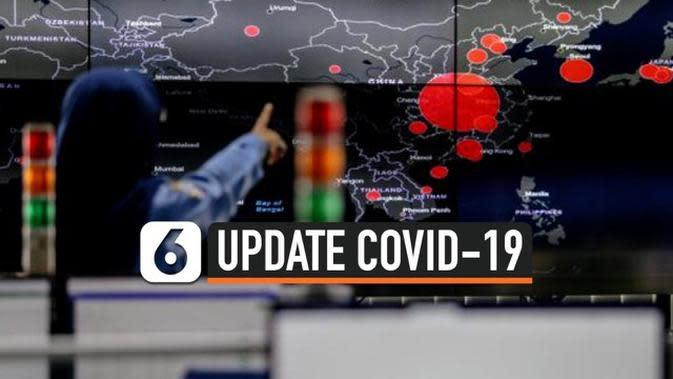 VIDEO: Kasus Positif Covid-19 di Indonesia Bertambah 3.662