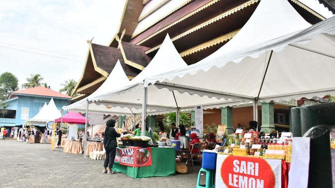 Anjungan Riau Taman Mini Indonesia Indah mengadakan Pagelaran Budaya Nusantara HUT RI Ke-75 dan Bazar Umum UMKM-Kuliner Nusantara 28-30 Agustus 2020 (Istimewa)