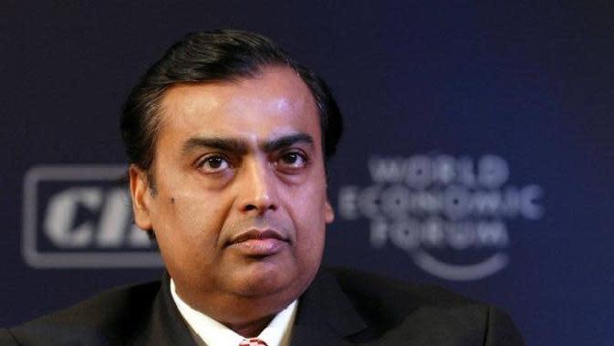 Akhirnya, Miliarder Asia Mukesh Ambani Masuk Jajaran 10 Top Orang Terkaya Dunia