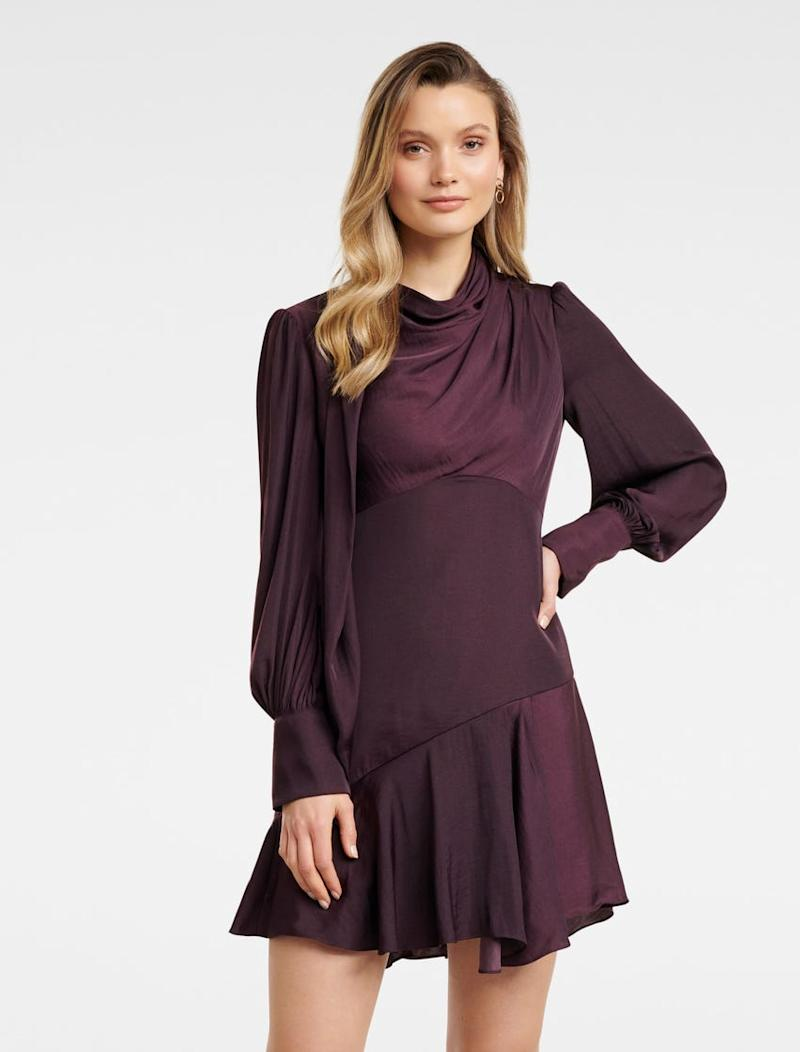 Lilja Mini Satin Dress