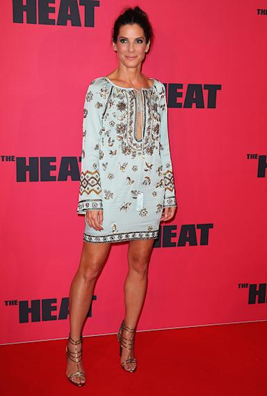 "Sandra Bullock ""The Heat"" Fashion"